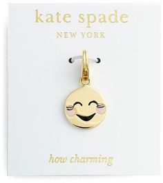 Pin for Later: Upgrade Your Jewellery Box With This Emoji Bling  Kate Spade Novelty Charm (£21)