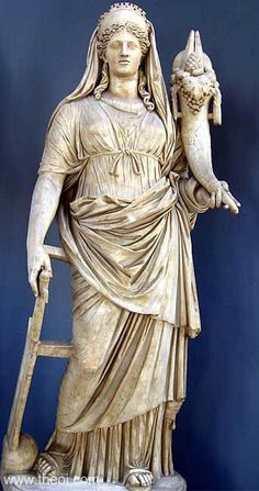 """In Greek mythology Demeter (""""mother-earth"""" or possibly """"distribution-mother"""") is the goddess of grain and fertility, the pure nourisher of the youth and the green earth, the health-giving cycle of life and death, and preserver of marriage and the sacred law."""
