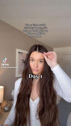 Hair Tips Video, Long Hair Tips, Hair Videos, Long Hair Growing Tips, Long Hair Video, Diy Hair Treatment, Hair Mask For Growth, Healthy Long Hair, Tips For Healthy Hair