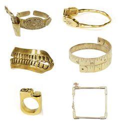 love random things becoming jewelry.