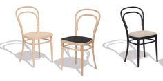 KLASSIKEREN OVER ALLE KLASSIKERE. Stol No.14 (1859) Produsent: Gebrüder Thonet Vienna Design: Michael Thonet (1796 -1871). Med sin rimelige pris og enkel design, ble det en av de mest solgte stoler noensinne laget. Rundt 50 millioner No 14s ble solgt mellom 1859 og 1930, og flere millioner har blitt solgt siden.