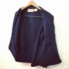 1989年4月製【FRANCE】MARINE NATIONAL 『BLOUSON』STAND UP COLLOR JACKET SIZE 92 フランス軍 NAVY ブルゾン スタンドアップカラージャケット Collor, Dresses For Work, Military, France, Navy, Fashion, Hale Navy, Moda, Fashion Styles