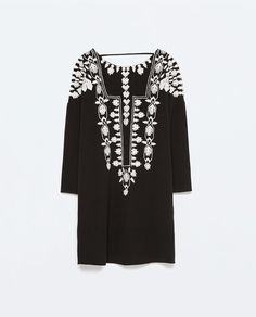 Image 7 of EMBROIDERED TUNIC from Zara