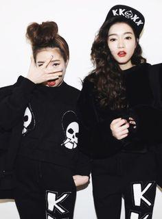 【姐妹就是要這樣穿!】快讓韓系女孩教妳們如何穿搭出最完美的『閨蜜裝』!