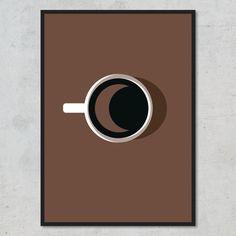 Morgen-, formiddags-, eftermiddags- og aftenkaffe er velkendte og elskede klassikere – men en buldersort friskbrygget kop natkaffe er for den sande kender! Nest Thermostat, Ikon, Mirror, Instagram, Design, Home Decor, Minimalism, Homemade Home Decor