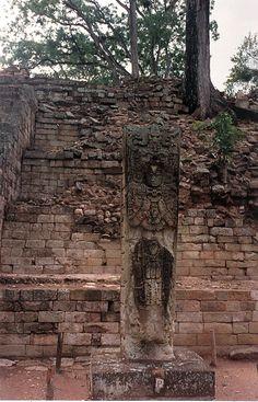 The Mayan Ruins of Copan, Honduras.