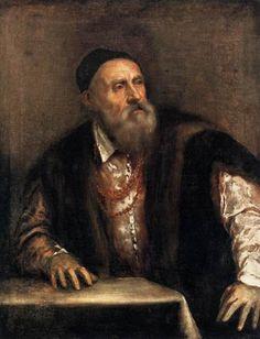 Autorretrato de Tiziano (1490-1576). Pintado entre 1550 y 1562.
