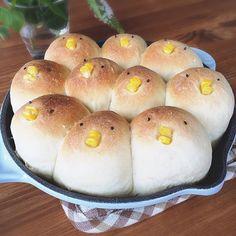 chick bread / 大ブームの「ちぎりパン」を可愛くデコレーションしちゃうアイデアのまとめ♡ - macaroni