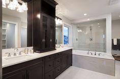 Ensuite Aspen Wood, Vanity, Mirror, Bathroom, Woods, Furniture, Home Decor, Dressing Tables, Washroom