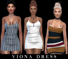Viona Dress Fixed by Leo Sims for The Sims 4 Sims Baby, Sims 4 Toddler, Sims 4 Cas, Sims Cc, The Sims 4 Packs, Sims 4 Gameplay, Best Sims, Sims 4 Dresses, Sims Four