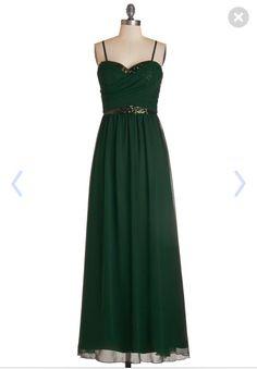 Emerald Prom dress- ModCloth