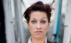How get ready: Amanda Palmer, eyebrow doodler - Guardian