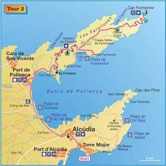 Radtouren.de: Port d'Alcúdia: Tour 2