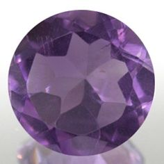 Round Top Purple Natural Amethyst (2.5mm - 9mm)
