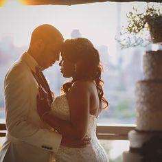 Myeesha & Calvin. #ontheirweddingday #myeeshaandcalvin #mrandmrs #nycweddings #ollistudio #nycweddingphotography #awardwinning #photojournalistic