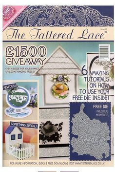 The Tattered Lace Magazine  Volume 25 by PNWCrafts on Etsy