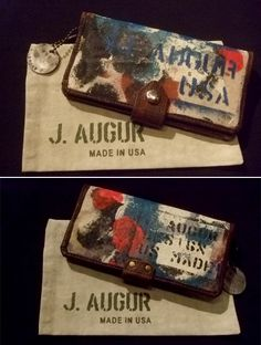 """ J.AUGUR DESIGN PAINT WALLET"