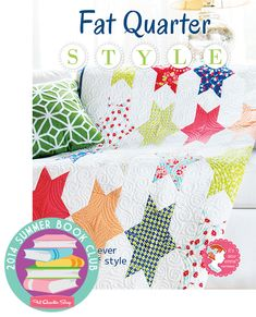 2014 Summer Book Club: Fat Quarter Style by It's Sew Emma