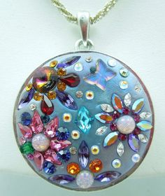 Rhinestone Mix Collection 3 free findings by Nikia on Etsy, $48.00 Crystal Clay makes great gifts!