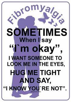 Hug me tight Fibromyalgia