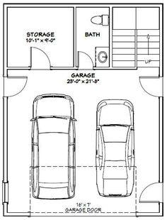 PDF house plans, garage plans, & shed plans. Garage Apartment Plans, Garage Apartments, Garage Plans, Garage Ideas, Carport Ideas, Barn Plans, Cabin House Plans, Small House Plans, House Floor Plans