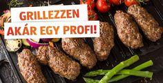 Ha ismeri a grillezés alapszabályait, a többi már gyerekjáték. Azonban ha megfogadja további tanácsainkat is, még könnyebben válhat a grillezés mesterévé. Sausage, Steak, Grilling, Bbq, Food, Barbecue, Barrel Smoker, Sausages, Crickets
