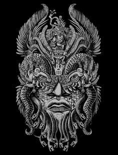 Quetzalcoatl on Behance by Jorge Garza