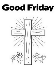 Good  Friday  Coloring  Pages  And  Printables  For  Kids