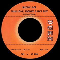 buddy ace - true love, money can't buy /// listen to it on http://radioactive.myl2mr.com /// plattenkreisel - circular record shelf, dj booth, atomic cafe, panatomic, records, rod skunk, vinyl, raregroove, crate digging, crate digger, record collection, record collector, record nerd, record store, turntable, vinyl collector, vinyl collection, vinyl community, vinyl junkie, vinyl addict, vinyl freak, vinyl record, cover art, label scan