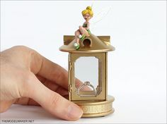 Tinker Bell custom engagement ring box