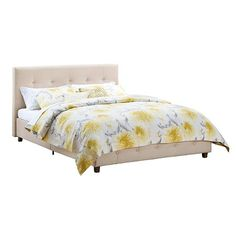 Rose Linen Upholstered Bed - Dorel Home Products : Target