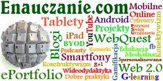 Społeczny Internet w nauczaniu. Nauczanie i uczenie się w Web 2.0. Narzędzia online i mobilne urządzenia w szkole. Nowoczesne metody nauczania z technologiami informacyjnymi. ePortfolio, WebQuest, projekty edukacyjne, blogi, podcasty, wideo i wideodydaktyka. Netbooki, tablety i smartfony w edukacji. Proste i nowoczesne narzędzia wspomagania dydaktyki szkolnej.