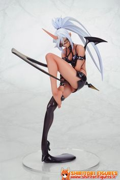 Anime Castle - Panty & Stocking with Garterbelt Kneesocks SIF EX PVC Figure.So cool, it's a Panty and Stocking devil figure! Bjd, Jungle Speed, Panty And Stocking Anime, Anime Studio, Death Note Cosplay, Chinese Cartoon, Figure Poses, Anime Figurines, Marvel