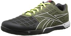 Reebok Mens R Crossfit Nano 30 Training Shoe Cargo GreenGravelWhiteExcellent RedNeon Yellow 75 M US ** Learn more by visiting the image link.