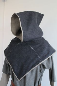 Viking hood, early medieval garment