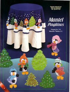 Foto: Felt Animals, Animal Design, Doll Patterns, Embroidery Stitches, Christmas Holidays, Christmas Crafts, Christmas Ideas, Applique, Lily