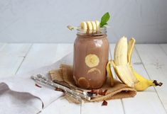 Smoothie με μπανάνα και κακάο
