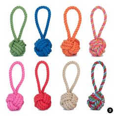 Cotton Rope Tug and Toss Dog Toy from Harry Barker