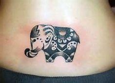 Image result for Elephant Trunk Up Design Elephant Tattoo Meaning, Cute Elephant Tattoo, Tribal Elephant, Elephant Tattoo Design, Small Elephant, Baby Elephant, Thai Elephant, Elephant Family, Henna Elephant