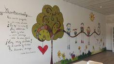 POESÍA INFANTIL: MURAL PARA LA BIBLIOTECA PÚBLICA DE SEGOVIA School, Baby, Children's Library, Drawing For Kids, Bored Kids, School Murals, Fabric Books, Libraries, Classroom