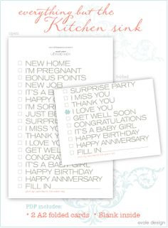 Of Course A Blank Thank You Birthday Card Should Be On The List Free Printable