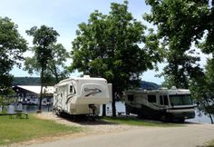 Camping at it's best!  Conley Bottom offers the best camping on Lake Cumberland.  Come and see!