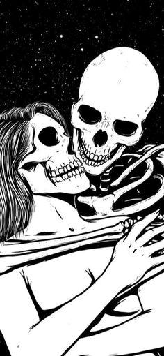 Skeleton Love, Skeleton Art, Death Aesthetic, Aesthetic Art, Skull Head, Skull Art, Dark Art Illustrations, Illustration Art, Patek Philippe