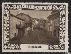 Ribadavia (Ourense) : [Viñeta con imagen de una de las calles antiguas en la localidad de Ribadavia] / [fotógrafo, Luis Casado Fernández]. http://aleph.csic.es/F?func=find-c&ccl_term=SYS%3D001528740&local_base=MAD01
