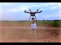 """Constructoras y petroleras usan """"drones"""" para levantar obras en Colombia - YouTube Drones, Wind Turbine, Youtube, Oil Tanker, Pull Up, Colombia, Youtubers, Youtube Movies"""