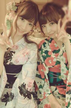 こじはる&麻里子様 #AKB48