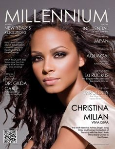 JANUARY 2014 | Number 35 | A Christina Milian VIVA DIVA: The Multi-talented Actress, Singer, Song Writer and Former Contestant of 'Dancing with the Stars' Adds Wine Brand Owner to Her Career. #christinamilian #millennummagazine #singer read issue here: http://www.magcloud.com/browse/issue/686027