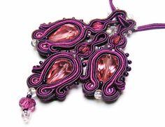 Sutasz-Anka: Violet- necklace http://www.soutage.com/2012/07/violet-naszyjnik.html