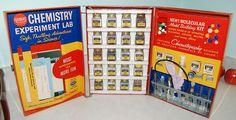 1950s Gilbert Chemistry Set