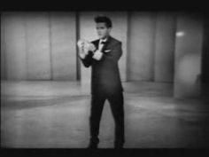 """""""Stuck On You"""" - Frank Sinatra's """"Welcome Home, Elvis"""" TV Special, 1960. That is one impressively tall pompadour!"""